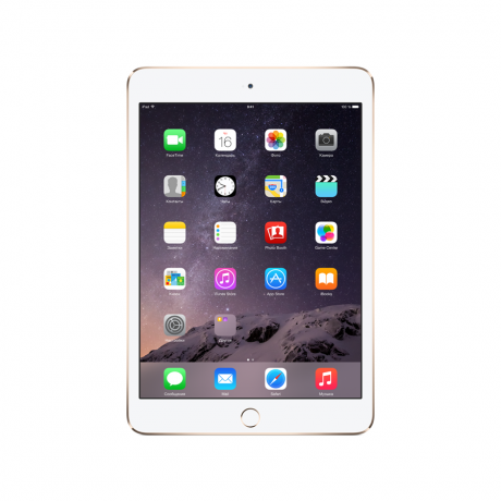 Планшет Apple iPad mini 3 Wi-Fi 16GB Gold (MGYE2RU)