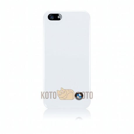 Чехол BMW Classic Hard Case for Apple iPhone 5 (White) [BMHCP5SW]