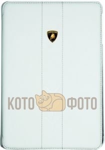 Чехол Lamborghini Leather Smart Case Performante - D1 for iPad mini (White)