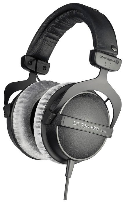 Наушники Beyerdynamic DT 770 Pro 250 Ohm beyerdynamic dt 990 pro 250 ohm hi fi headphones professional studio headsets open back headband headpones made in germany