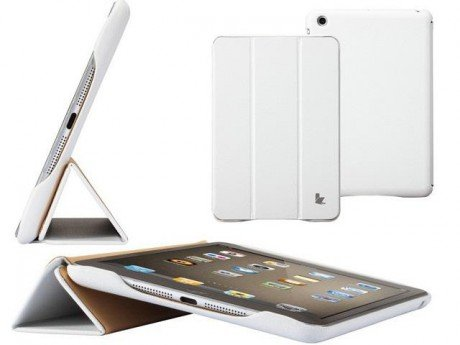 Чехол для Apple iPad mini;mini retina Jison Smart Leather Case Белый (JS-IDM-07T00)