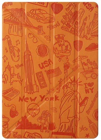 Чехол Ozaki O!coat Travel case OC119NY для iPad Air 2. New York