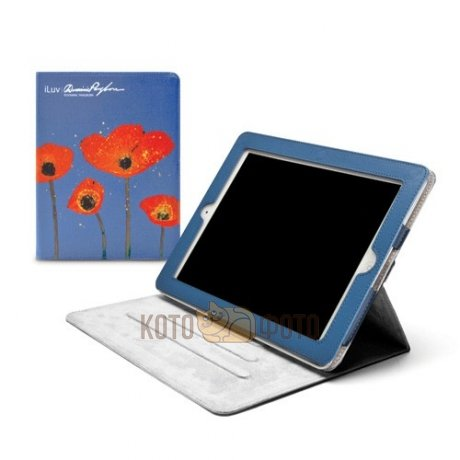 Чехол iLuv для iPad4/iPad3/iPad2 Pangborn Art Collection flower