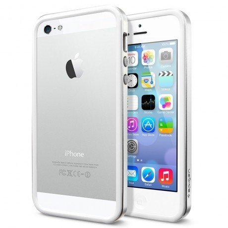 Бампер SGP Neo Hybrid EX Series для iPhone 6, Satin Silver. SGP11026