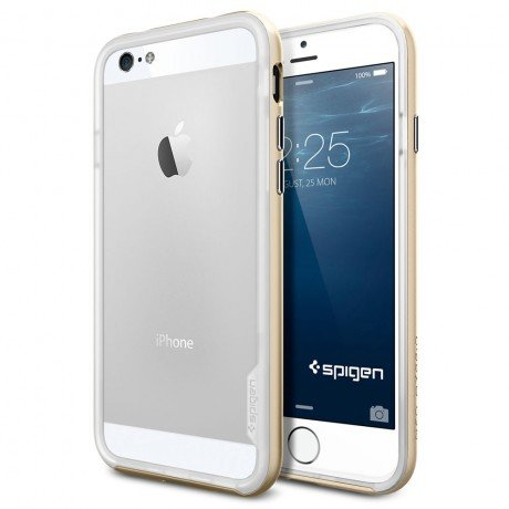 Бампер SGP Neo Hybrid EX Series для iPhone 6, Champagne Gold. SGP11028