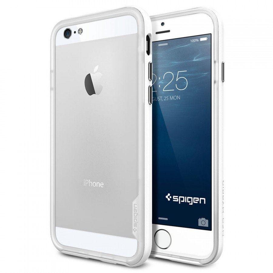 Бампер SGP Neo Hybrid EX Series для iPhone 6, Infinity White. SGP11029 аксессуар чехол бампер sgp neo hybrid ex slim metal series for iphone 5 satin silver sgp10033