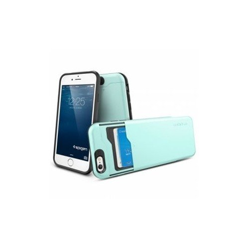 Чехол SGP Slim Armor CS для iPhone 6, Mint. SGP10966 kinston cute candy rhinestone paste pattern pu leather flip open case w card slot for iphone 6