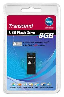 Transcend 8Gb USB2.0 JetFlash T3K