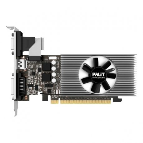 Фотография товара видеокарта Palit PCI-E PA-GT730-1GD5 nVidia GeForce GT 730 1024Mb 64bit GDDR5 902/5000 oem low profi (108164)