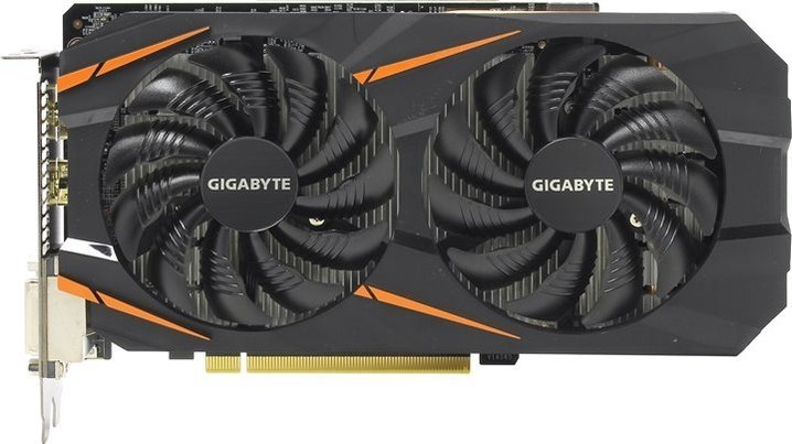 Видеокарта Gigabyte GTX1060 6Gb Windforce OC (GV-N1060WF2OC-6GD) от Kotofoto