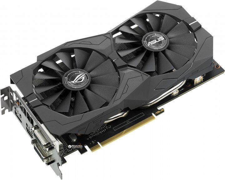 Видеокарта Asus GTX 1050Ti 4Gb Strix Gaming (STRIX-GTX1050TI-4G-GAMING)