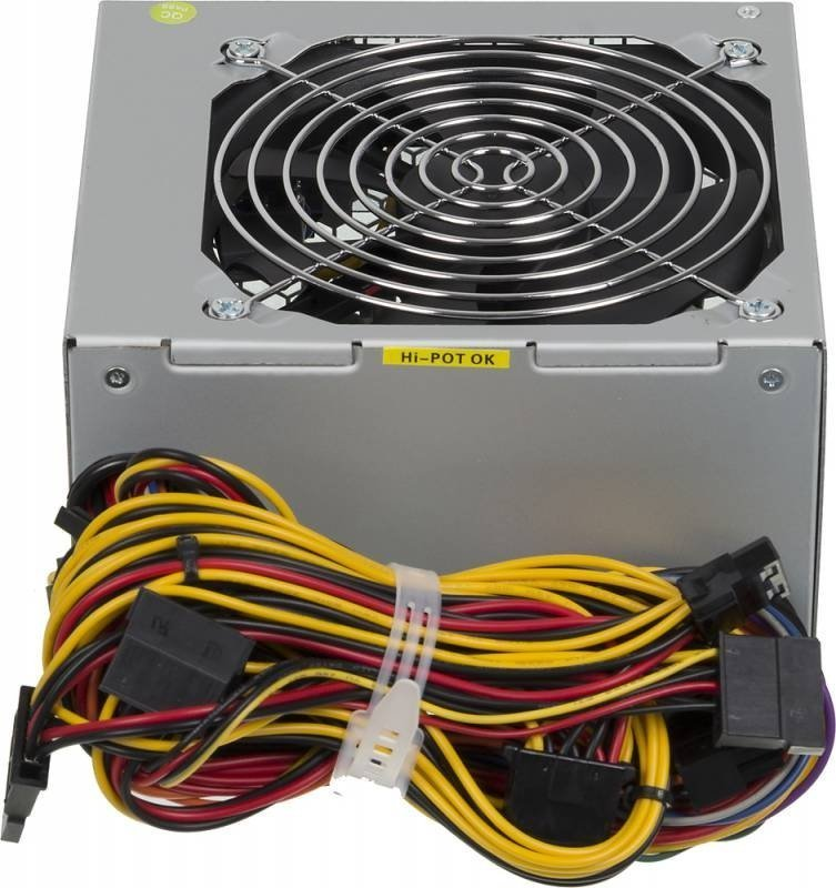 Блок питания Accord ATX 600W ACC-600W -12 sata 15 7 pin female to ide 4 pin male sata 7 pin female adapter cable 50cm length