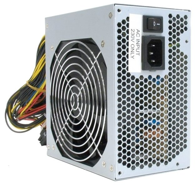 Блок питания FSP 500W ATX-500PNR-I 1stplayer black widow 500w active pfc high performance atx power supply 80 plus bronze certified full modular
