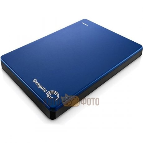 Внешний HDD Seagate Backup Plus Slim 2Tb Blue (STDR2000202) seagate wireless plus 2tb stcv2000200