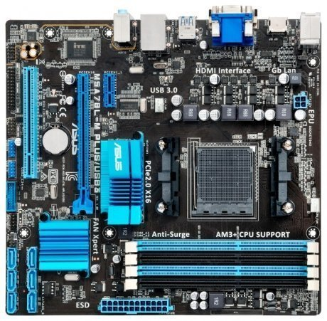 Фотография товара материнская плата ASUS M5A78L-M PLUS/USB3 Socket AM3+ (147285)