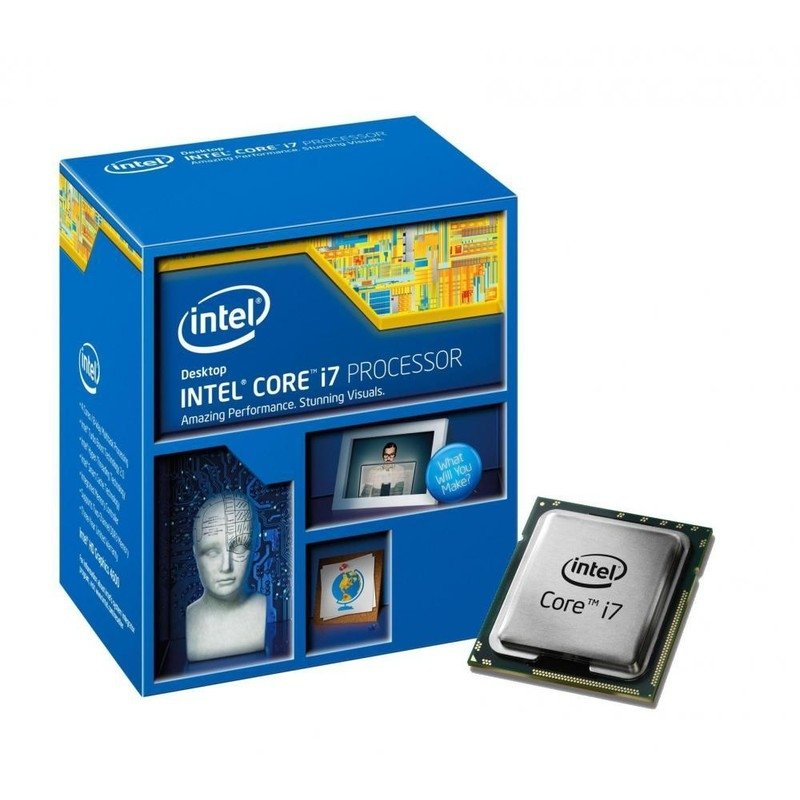 Процессор Intel Core i7 4790 1150 BOX цена и фото