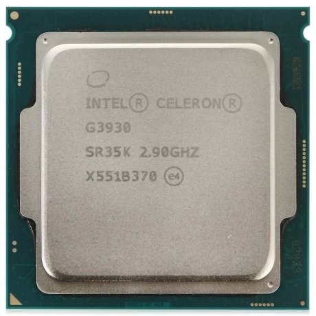 Процессор Intel Celeron G3930 1151 OEM процессор intel celeron g3930 2 9ghz 2mb socket 1151 oem