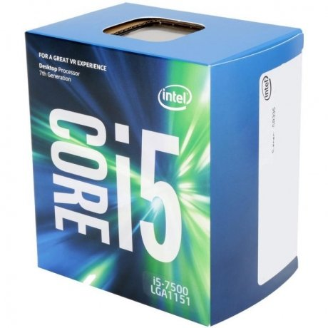 Фотография товара процессор Intel Core i5 7500 1151 BOX (147169)
