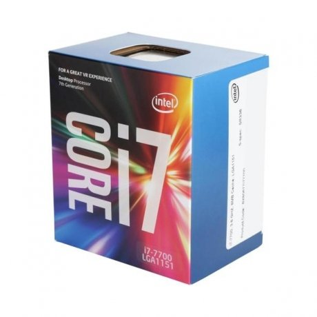 Фотография товара процессор Intel Core i7 7700 BOX (147175)