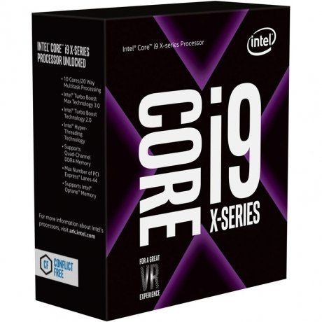Фотография товара процессор Intel Core i9 7900X 2066 BOX w/o cooler (147936)