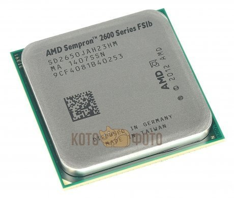 Процессор AMD Sempron X2 2650 Socket-AM1 (1.45;5000;1Mb;Radeon HD 8240) Kabini OEM
