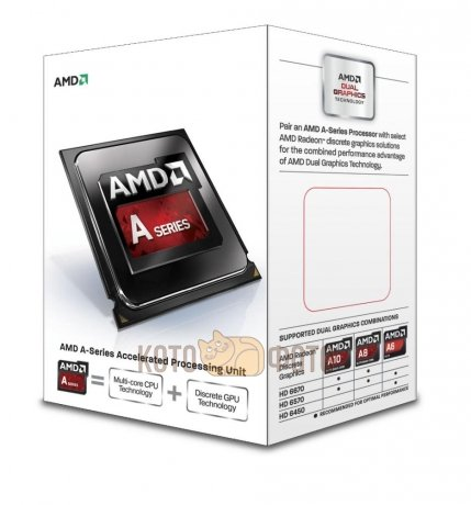 Процессор AMD A10 6700 FM2 (AD6700OKHLBOX) Box