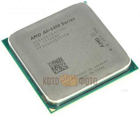 Процессор AMD A6 X2 6400K Socket-FM2 (AD640KOKHLBOX) Box