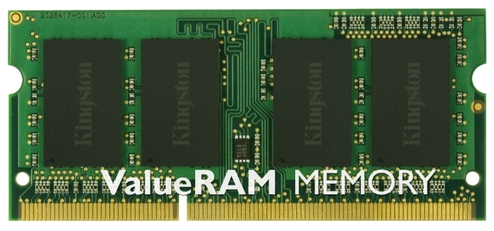 все цены на Память DDR3 SO-DIMM Kingston 8Gb PC10600(KVR1333D3S9/8G) онлайн