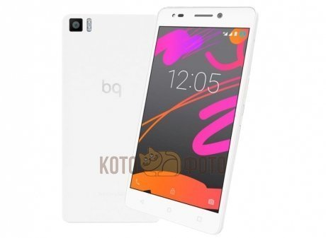 Смартфон BQ Aquaris M5.5 16Gb-3Gb RAM White