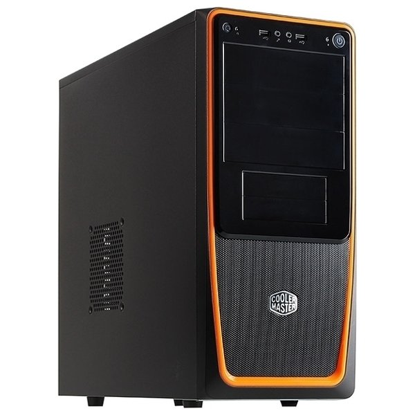 Корпус CM Elite 311B black/orange 600W корпус cooler master elite 120 advanced black rc 120a kkn1 w o psu