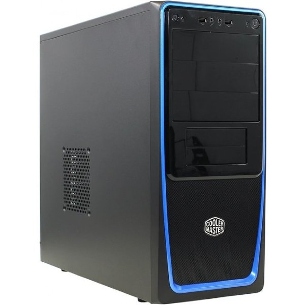 Корпус CM Elite 311B black/blue 600W корпус cooler master elite 120 advanced black rc 120a kkn1 w o psu