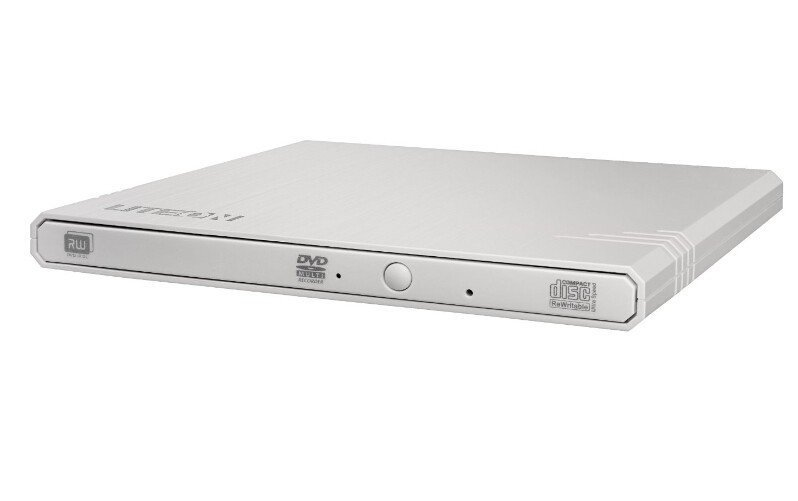 Привод DVD-RW Lite-On eBAU108 белый USB slim внешний привод liteon es 1 es1 01 dn 8a6nh [ dvd rw ext black slim usb2 0]