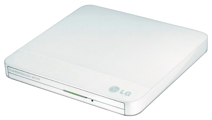 Привод DVD-RW LG GP50NW41 белый USB slim bluray player external usb 2 0 dvd drive blu ray 3d 25g 50g bd r bd rom cd dvd rw burner writer recorder for laptop computer pc