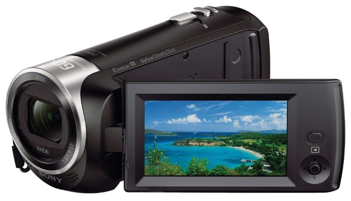 Фото - Видеокамера Sony HDR-CX405 видеокамера sony hdr cx405b black 30x zoom 9 2mp cmos 2 7 os avchd mp4 [hdrcx405b cel]