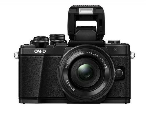 Цифровой фотоаппарат Olympus OM-D E-M10 Mark II Kit 14-42 mm Pancake + 40-150 mm R EZ Black-Black-Black e 3lue ems600 mazer ii type r gaming mouse black