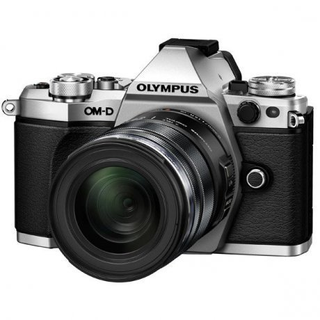 Цифровой фотоаппарат Olympus OM-D E-M5 Mark II Kit 12-50 mm F/3.5-6.3 Silver-Black фотоаппарат olympus om d e m5 mark ii kit 12 50 mm f 3 5 6 3 black
