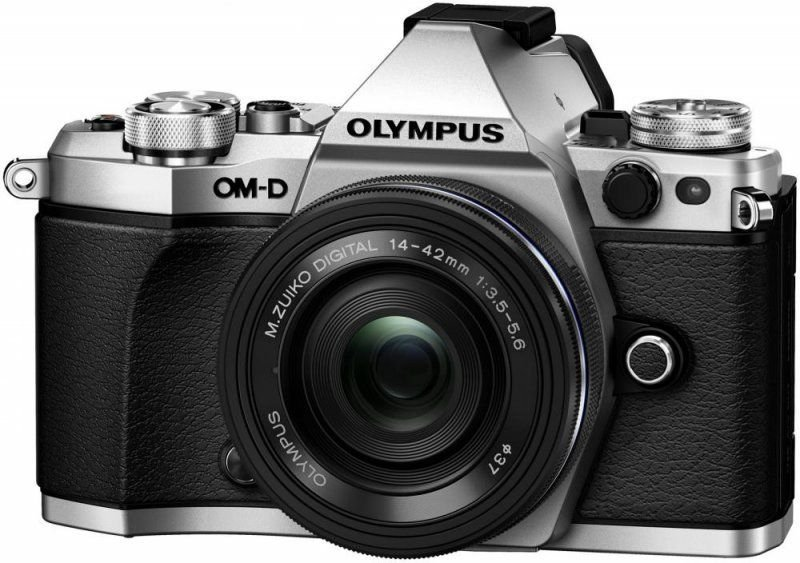 Цифровой фотоаппарат Olympus OM-D E-M5 Mark II Kit 14-42 mm EZ Silver-Black цена
