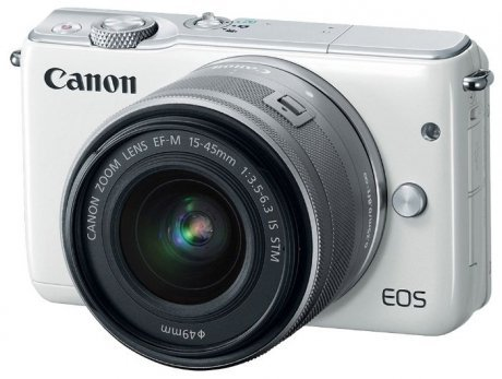 Цифровой фотоаппарат Canon EOS M10 kit 15-45 IS STM White сумка canon eh23 cj wh for eos m white