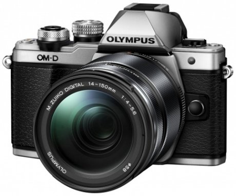 Цифровой фотоаппарат Olympus OM-D E-M10 Mark II Kit 14-150 mm F/4-5.6 II Silver-Black цифровой фотоаппарат olympus om d e m5 mark ii kit 14 42 mm ez silver black