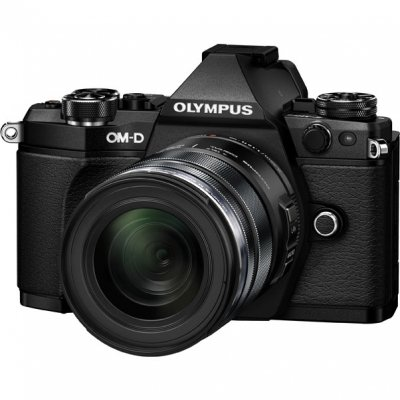 Цифровой фотоаппарат Olympus OM-D E-M5 Mark II Kit 14-42 mm EZ Black-Black фотоаппарат olympus om d e m5 mark ii kit 14 42 mm ez silver black