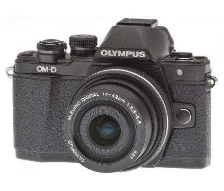 Цифровой фотоаппарат Olympus OM-D E-M10 Mark II Kit 1442 EZ Black смартфон meizu u20 16gb rose gold