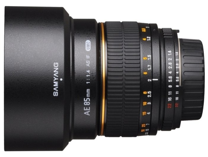 Объектив Samyang MF AE 85 mm F/1.4 AS IF UMC Nikon объектив samyang nikon mf 24 mm f 1 4 ae