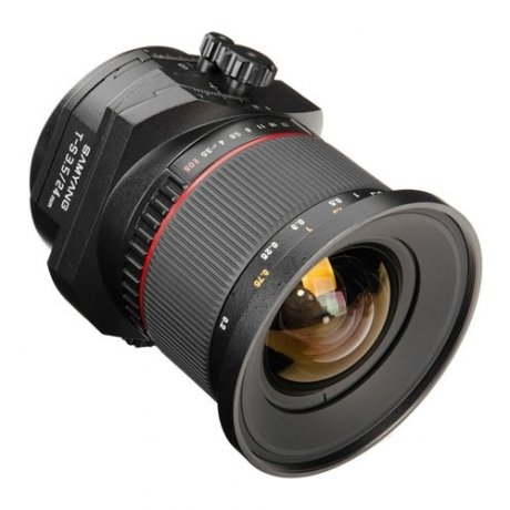 Фотография товара объектив Samyang Nikon MF T-S 24 mm F/3.5 AS ED UMC (111546)