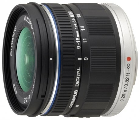 Объектив Olympus M.Zuiko ED 9-18 mm f/4.0-5.6 Micro for PEN Black* bartholomew