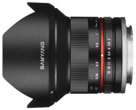 Объектив Samyang MF 12 mm F/2.0 ED AS NCS CS for Micro 4/3 Black