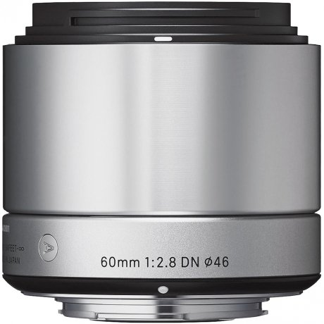 Фотография товара объектив Sigma AF 60 mm F/2.8 DN ART for Micro Four Thirds Silver (111605)