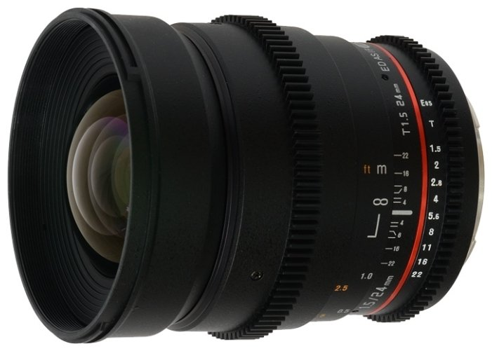 Объектив Samyang MF 24 mm T1.5 ED AS UMC VDSLR Sony E цена