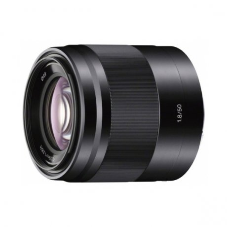 Объектив Sony SEL-50F18 50 mm F/1.8 OSS E for NEX Black* объектив премиум sony 28 70mm f 3 5 5 6 oss sel 2870