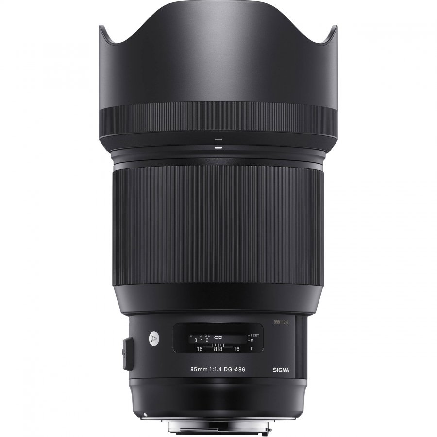 Объектив Sigma AF 85 mm F/1.4 DG HSM Art Canon объектив sigma af 19 mm f 2 8 dn art for micro four thirds black