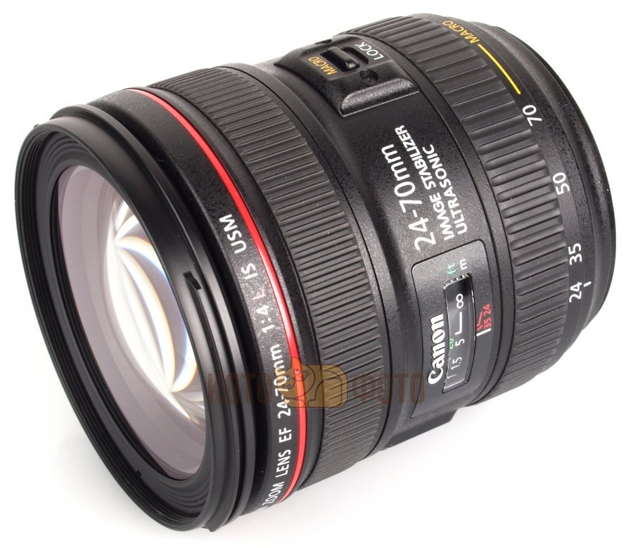 Объектив Canon EF 24-70mm f 4L IS USM объектив canon ef s usm 0284b007